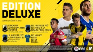 Acheter fifa 17 édition Deluxe