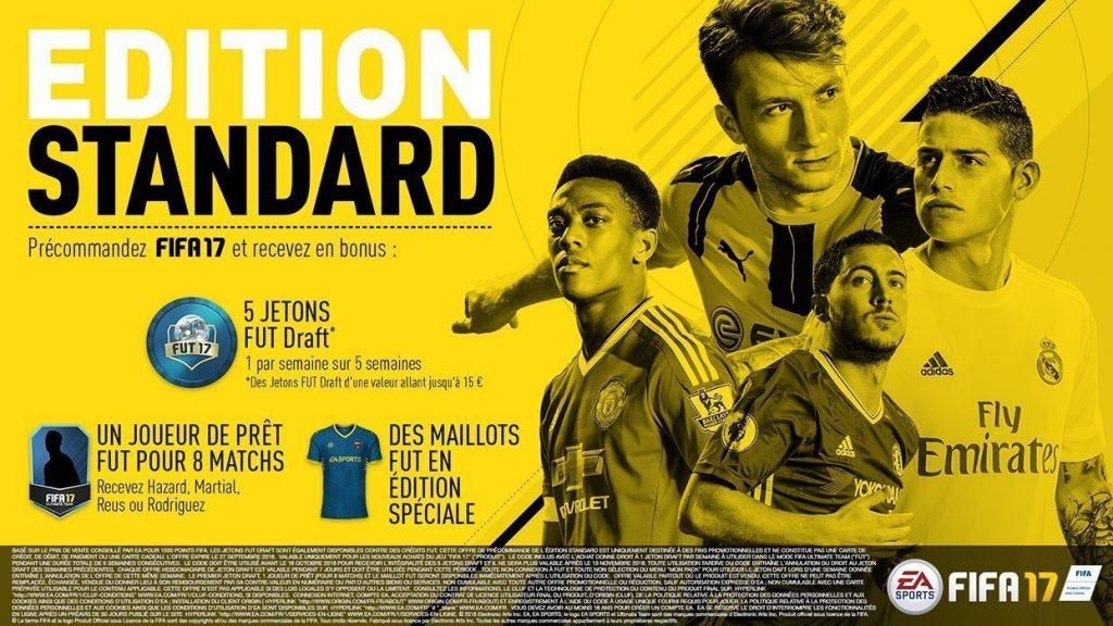 Achetez Fifa 17 édition standard